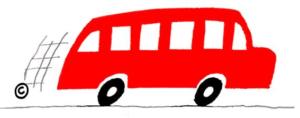 Killinger roter Bus